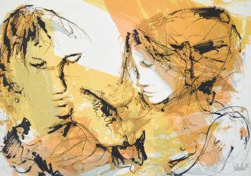 Las Dos Mujeres AP 1980 Limited Edition Print - Gino Hollander
