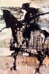 Picador 1971 61x41 Original Painting - Gino Hollander