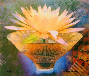 Blooming Midas 2000 Limited Edition Print by Yankel Ginzburg