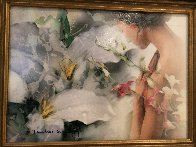 Conscientious Dialogue Study 2005 19x22 Original Painting by Yankel Ginzburg - 4