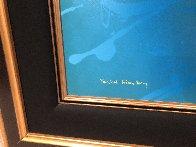 Raindrops 2003 30x45 Super Huge Original Painting by Yankel Ginzburg - 3