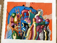 Untitled Lithograph AP  Limited Edition Print by Yankel Ginzburg - 1