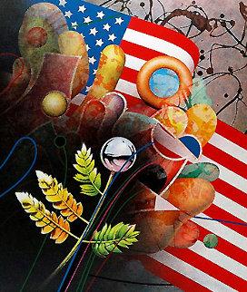 Birth of a Nation 1987 Limited Edition Print by Yankel Ginzburg