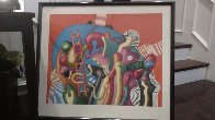Coral Reef 1986 Limited Edition Print by Yankel Ginzburg - 2