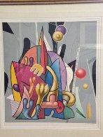 Space Odyssey AP Limited Edition Print by Yankel Ginzburg - 1