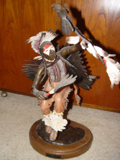 When Eagles Dance Sculpture AP 23 in Sculpture - Bill Girard