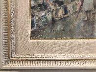 Untitled Paris Cityscape 1983 39x49 Super Huge Original Painting by Andre Gisson - 2