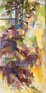 Siena 48x24 Original Painting by Kamal Givian