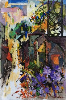 Village 36x24  Original Painting by Kamal Givian
