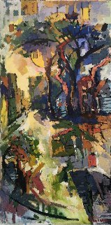 Sunrise 48x24 Original Painting by Kamal Givian