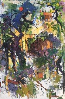 Temple  40x27 Original Painting - Kamal Givian