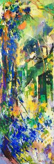 Untitled Painting 2015 72x24 Super Huge Original Painting - Kamal Givian