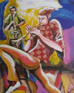 Harmonizer - Music Series II 2002 Limited Edition Print - Marcus Glenn