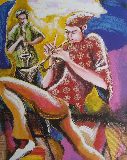 Harmonizer - Music Series II 2002 Limited Edition Print by Marcus Glenn