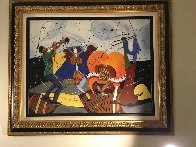 Dancing With Picasso 35x48 Works on Paper (not prints) by Marcus Glenn - 3