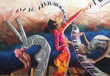 Harmony of Equilibriums Flow Limited Edition Print by Marcus Glenn