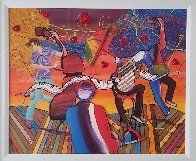 Festival For the VIP 2010 Embellished Limited Edition Print by Marcus Glenn - 2