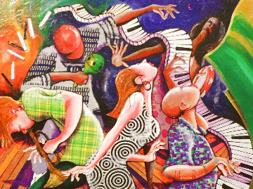 Flipped Flopped Jazz Still on Top 2011 Limited Edition Print - Marcus Glenn