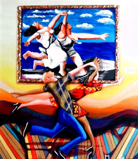 Life Imitating Art (Picasso) Embellished Limited Edition Print - Marcus Glenn