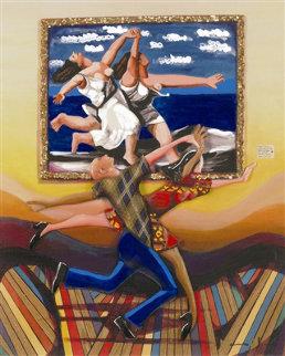 Life Imitating Art 2005 Limited Edition Print by Marcus Glenn