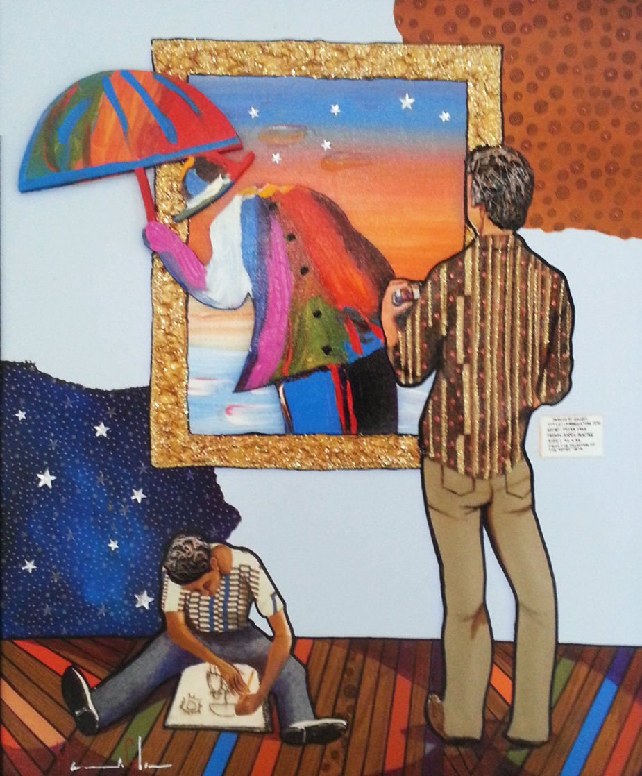 Art Inspired By Life 2010 Embellished  Limited Edition Print by Marcus Glenn