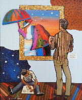 Art Inspired By Life 2010 Embellished  Limited Edition Print by Marcus Glenn - 0