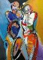 Shared Destiny 2016 55x39 Original Painting - Alfred Gockel