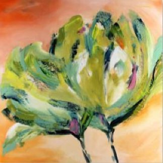 Green Tulip 2018 Limited Edition Print by Alfred Gockel