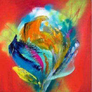 Power Flower I 2018 Limited Edition Print by Alfred Gockel