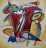 Rythmn And Time 2016 41x41 Original Painting by Alfred Gockel - 1