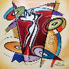 Rythmn And Time 2016 41x41 Original Painting by Alfred Gockel - 0