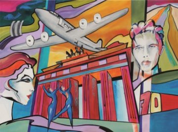 Berlin 70 Years of History And David Bowie 2018 Limited Edition Print by Alfred Gockel