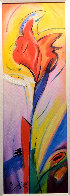 Iris of Color 2006 Embellished Limited Edition Print by Alfred Gockel - 2