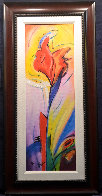 Iris of Color 2006 Embellished Limited Edition Print by Alfred Gockel - 1