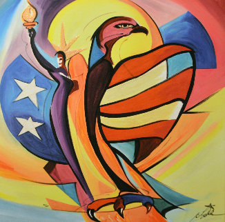 Liberty Bird 2006 Limited Edition Print - Alfred Gockel