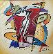 Rhythm & Time 2016 41x41 Original Painting by Alfred Gockel - 1