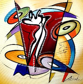 Rhythm & Time 2016 41x41 Original Painting by Alfred Gockel