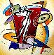 Rhythm & Time 2016 41x41 Original Painting by Alfred Gockel - 0
