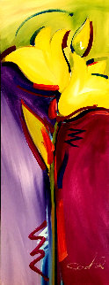 All Dressed Up 2016 47x16 Super Huge Original Painting - Alfred Gockel