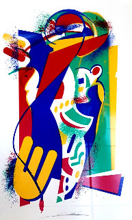 Untitled Screen Print 1997 Limited Edition Print by Alfred Gockel