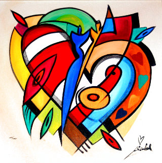 Beating of My Heart 2005 Limited Edition Print - Alfred Gockel