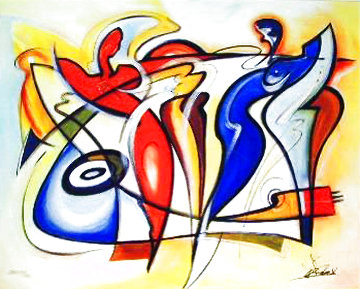 Fire And Ice 2004 with remark Limited Edition Print - Alfred Gockel