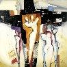 Mystic Lovedance 2012 31x31 Original Painting by Alfred Gockel - 0