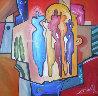 Mingle 1992 39x39 Original Painting by Alfred Gockel - 0