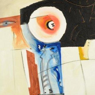 One 39x38 Original Painting by Alfred Gockel