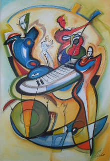 Play It Again w Remarque Limited Edition Print by Alfred Gockel