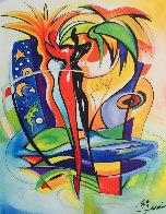 Cosmic Gecko AP 2004 Limited Edition Print by Alfred Gockel - 0