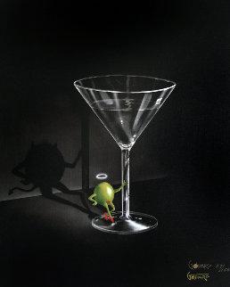 She Devil Martini 2004 Limited Edition Print by Michael Godard