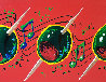 Musical Olives 30x60 Original Painting by Michael Godard - 2