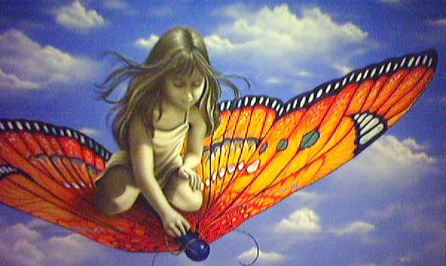 Butterfly 2006 Limited Edition Print by Michael Godard
